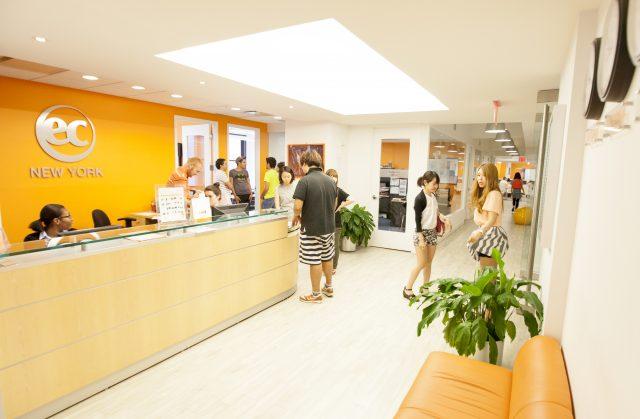 語学学校 ニューヨーク EC, New York