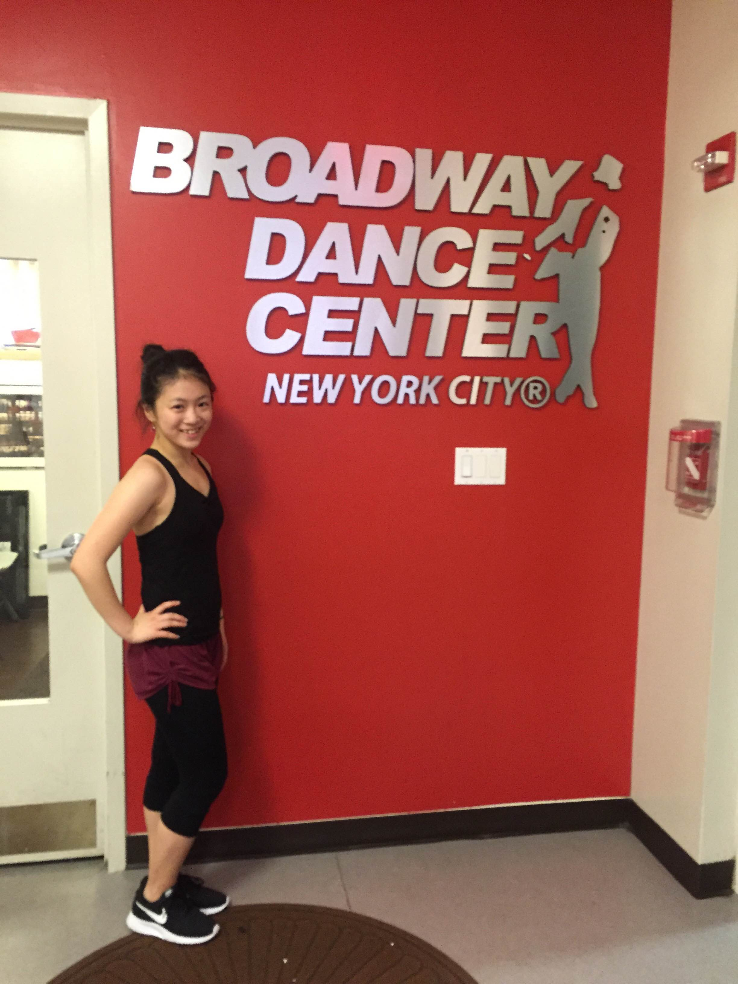 Broadway Dance Center の留学体験談