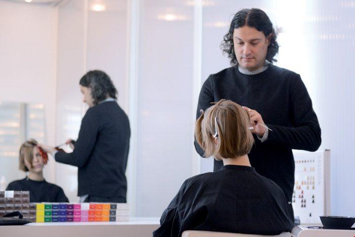 ロンドン Vidal Sassoon 長期 美容師留学