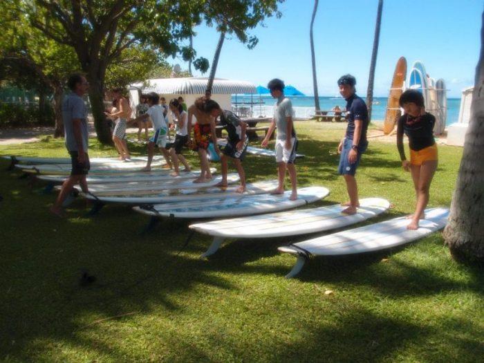 ハワイ 選べるおけいこ留学 -サーフィンレッスン-