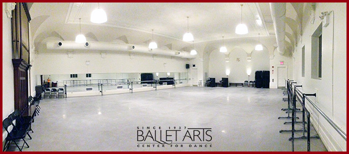 【長期ダンス留学】ニューヨーク Ballet Arts