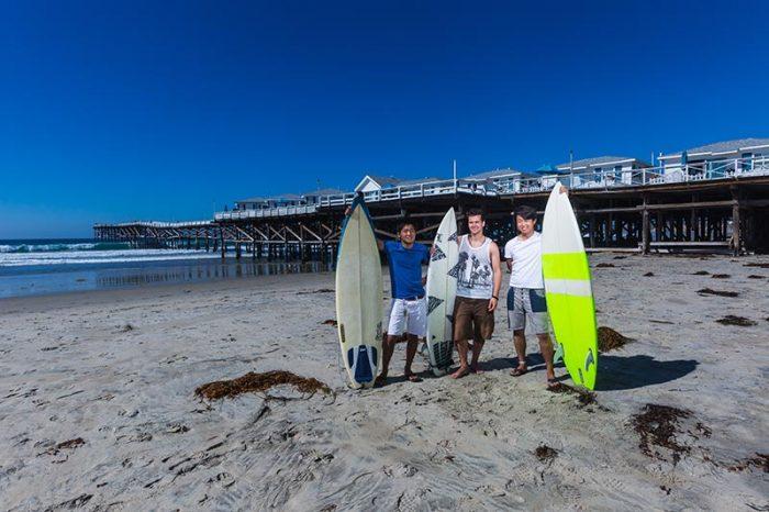 サンディエゴ・パシフィックビーチ 語学+サーフィン留学