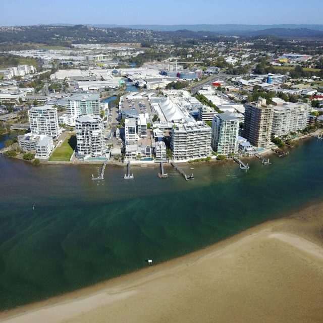 Lexis Sunshine Coast - Drone view building middle of shot_preview