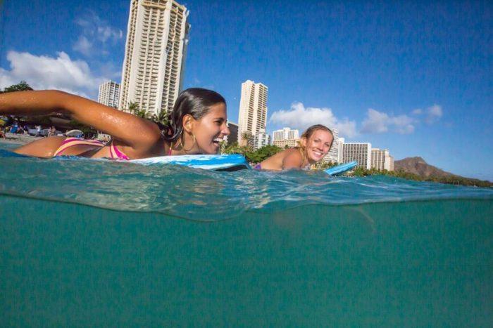 ハワイ 短期語学+サーフィン