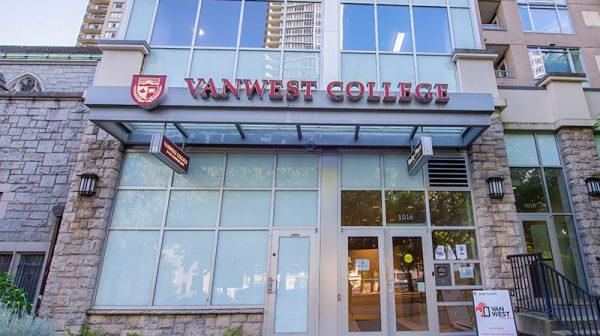 語学学校 バンクーバー VanWestCollege_vancouver